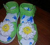 Обувь ручной работы handmade. Livemaster - original item sandals: Sandals