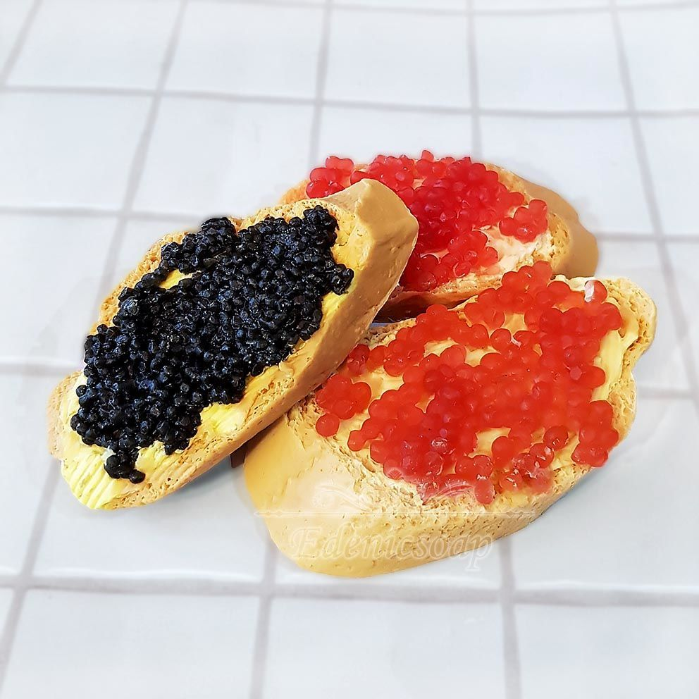 soap: ' Sandwich with caviar' gift creative gift, Soap, Moscow,  Фото №1