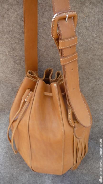 Женские сумки ручной работы. Ярмарка Мастеров - ручная работа. Купить Торба рыжая. Handmade. Рыжий, кожа натуральная