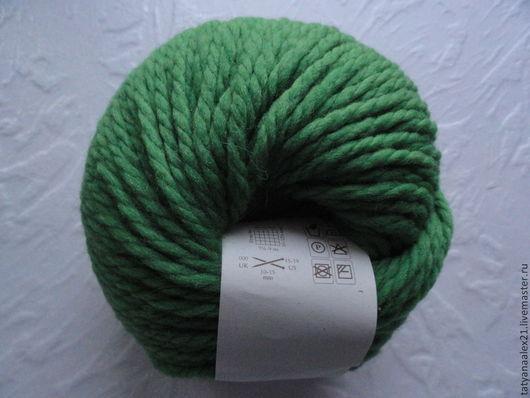 Вязание ручной работы. Ярмарка Мастеров - ручная работа. Купить Пряжа Rowan Big Wool № 077 Pine Needle. Handmade.