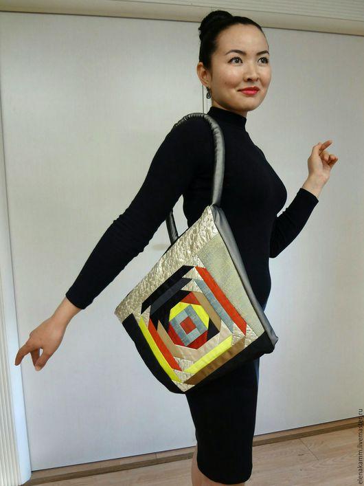 Женские сумки ручной работы. Ярмарка Мастеров - ручная работа. Купить Необыкновенная стильная сумка с ярким узором. Handmade.