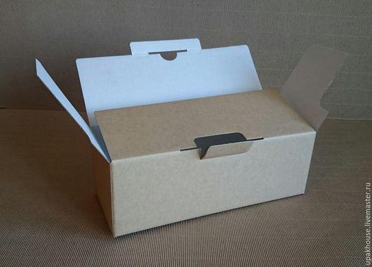 Упаковка ручной работы. Ярмарка Мастеров - ручная работа. Купить гофрокоробка. Handmade. Простая упаковка, коричневый