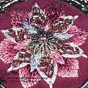 Украшения handmade. Livemaster - original item Pendant with embroidery Felicita Stelle. Handmade.