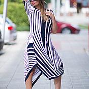 Одежда handmade. Livemaster - original item Tunic dress, Long tunic, Asymmetrical tunic. Handmade.