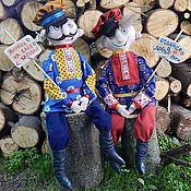 Куклы и игрушки ручной работы. Ярмарка Мастеров - ручная работа клевые мужики. Handmade.