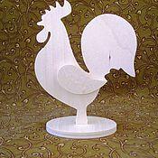 Материалы для творчества ручной работы. Ярмарка Мастеров - ручная работа Петушок на подставке-2. Handmade.