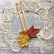 Аксессуары handmade. Livemaster - original item The collar lace made of linen. Handmade.