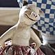 """Коллекционные куклы ручной работы. """"Кадриль"""". Ирина Filicity Art. Ярмарка Мастеров. Художественная кукла, бежевый, клоун, акрил"""