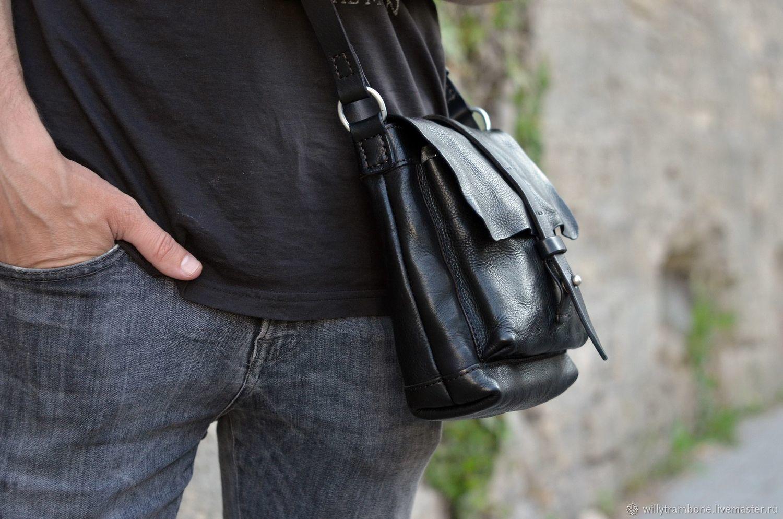 0f355d576dfd Небольшая чёрная сумка – купить в интернет-магазине на Ярмарке ...