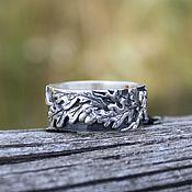 handmade. Livemaster - original item Silver ring Oak branch. Handmade.
