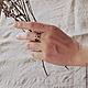 """Кольца ручной работы. Кольцо """"Средневековое"""". Владимир. Мастерская 'СЕНО СОЛОМА'. Ярмарка Мастеров. Мельхиор"""