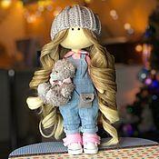 Мишки Тедди ручной работы. Ярмарка Мастеров - ручная работа Кукла текстильная. Кукла интерьерная. Кукла коллекционная.. Handmade.