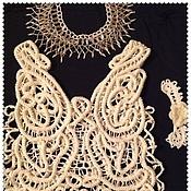 Одежда ручной работы. Ярмарка Мастеров - ручная работа Топ кружевной Румынское кружево. Handmade.