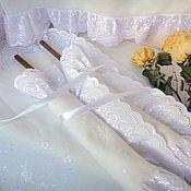 Свадебный салон ручной работы. Ярмарка Мастеров - ручная работа Венчальный набор для венчания Свадебный рушник и салфетки. Handmade.