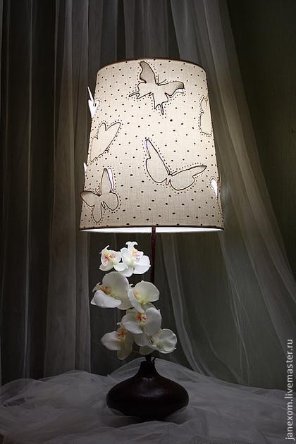 """Освещение ручной работы. Ярмарка Мастеров - ручная работа. Купить Авторский светильник """"ОРХИДЕЯ"""". Handmade. Орхидея, цветы в интерьере, светильник"""