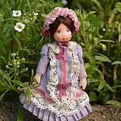 Куклы и игрушки ручной работы. Ярмарка Мастеров - ручная работа Кукла для куклы  миниатюрная. Handmade.