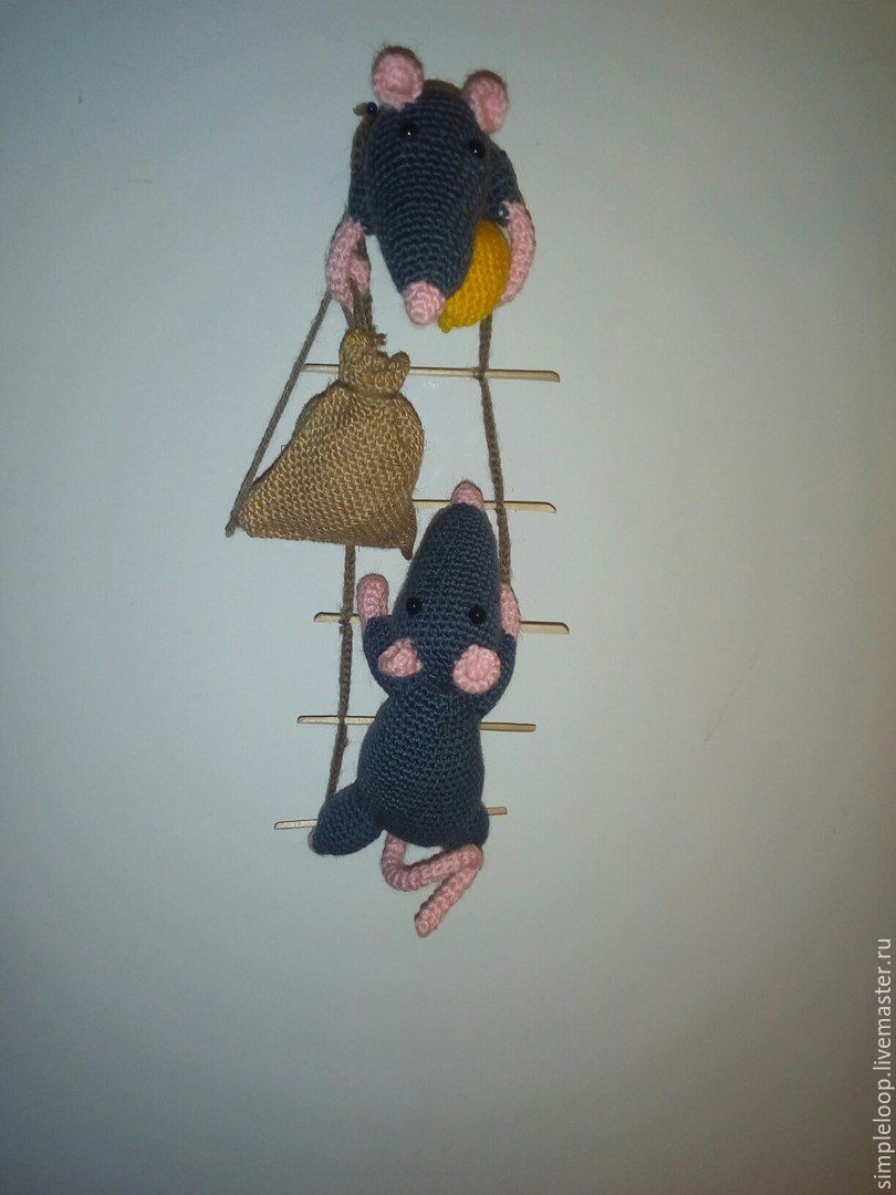 """Magnet """"Mouse-Thieves"""", Stuffed Toys, Belgorod,  Фото №1"""