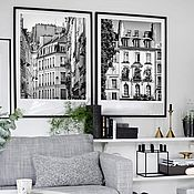 Картины и панно handmade. Livemaster - original item Paris photos Black and white pictures of the City Architecture Posters on the wall. Handmade.