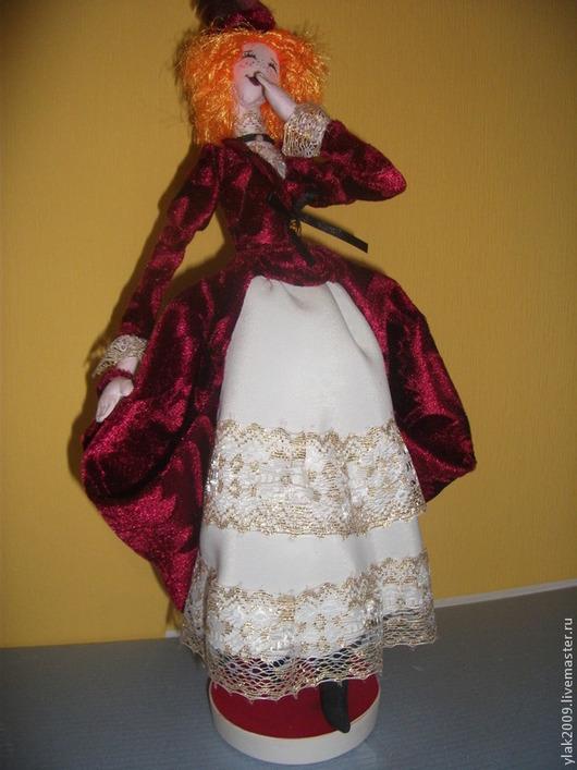 Коллекционные куклы ручной работы. Ярмарка Мастеров - ручная работа. Купить Куколка в технике корейский тряпиенс. Handmade. Интерьерная кукла