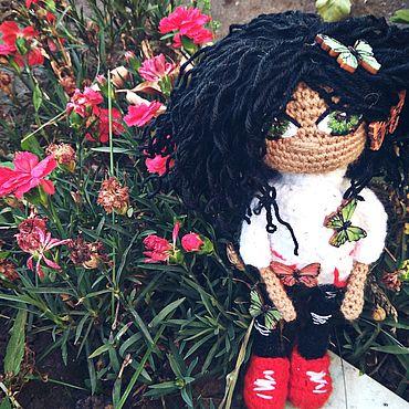 Куклы и игрушки ручной работы. Ярмарка Мастеров - ручная работа Игрушки: амигуруми куколки. Handmade.
