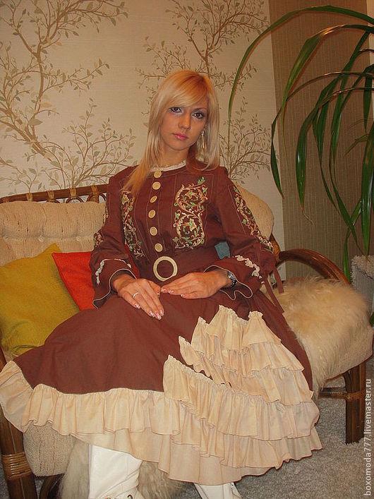 Платья ручной работы. Ярмарка Мастеров - ручная работа. Купить платье бохо стиль богемы handmade,,Паняночка,,  №2. Handmade.