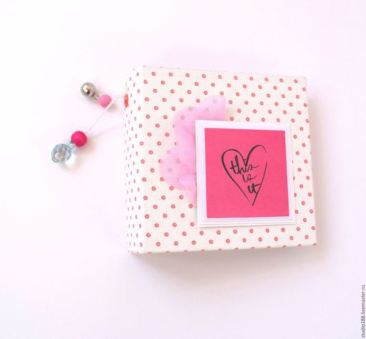 Персональные подарки ручной работы. Ярмарка Мастеров - ручная работа. Купить Инстабук розовый. Handmade. Розовый, Скрапбукинг, альбом для фотографий