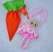 Куклы и игрушки ручной работы. Ярмарка Мастеров - ручная работа Зайка из морковки. Handmade.