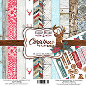 Материалы для творчества handmade. Livemaster - original item Set FDSP-01039 Paper Christmas Fairytales. Handmade.