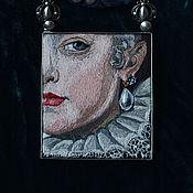Украшения handmade. Livemaster - original item necklace Frans Pourbus the series