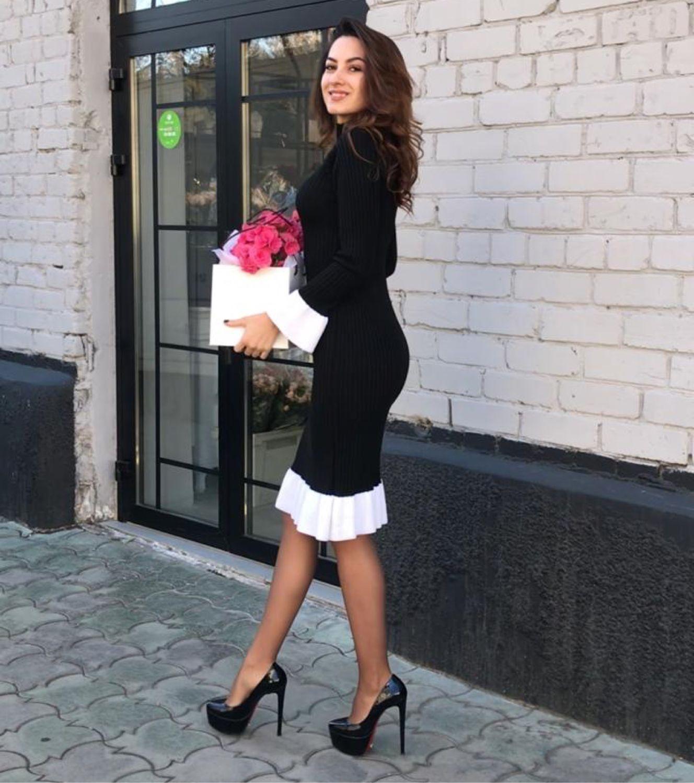 Black and white dress, black dress, designer dress !, Dresses, Moscow,  Фото №1