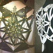 Одежда ручной работы. Ярмарка Мастеров - ручная работа Жилет из натур. кожи (2 цвета). Handmade.