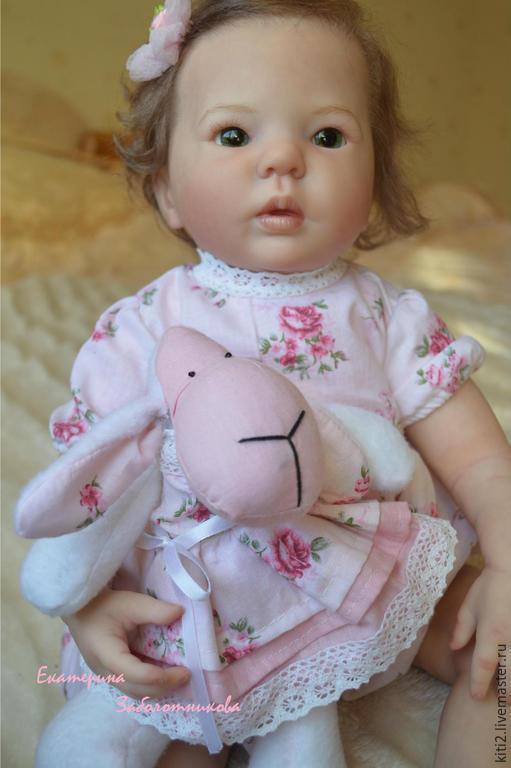 Куклы-младенцы и reborn ручной работы. Ярмарка Мастеров - ручная работа. Купить кукла реборн Кристина. Handmade. Кремовый