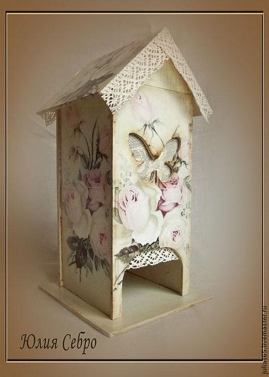 """Кухня ручной работы. Ярмарка Мастеров - ручная работа. Купить Чайный домик """"Розы"""". Handmade. Чайный домик, винтаж"""
