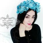 Цветочные ободки - Ярмарка Мастеров - ручная работа, handmade