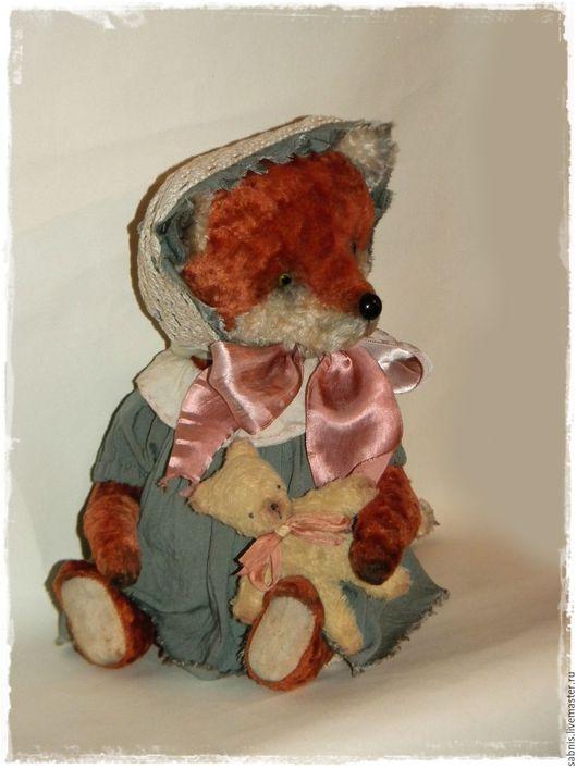 Мишки Тедди ручной работы. Ярмарка Мастеров - ручная работа. Купить Лисонька. Handmade. Рыжий, мишки