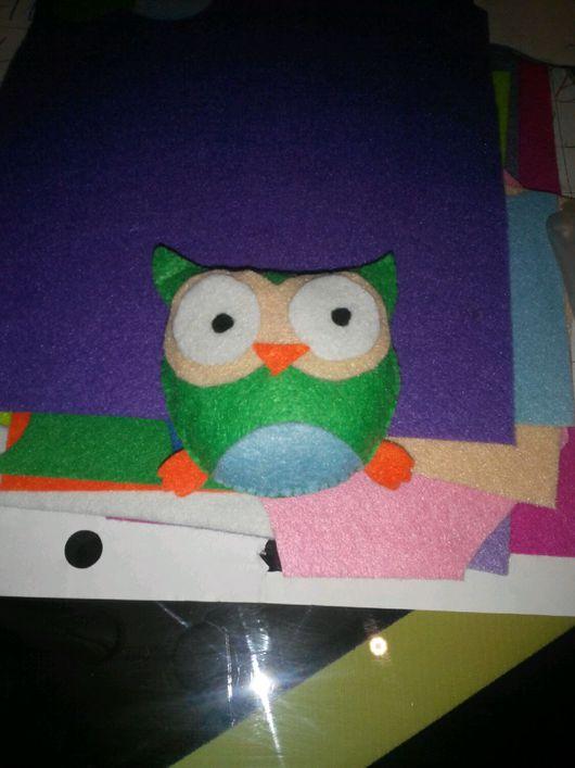 Игрушки животные, ручной работы. Ярмарка Мастеров - ручная работа. Купить Сова из фетра. Handmade. Изделие из фетра, детская игрушка