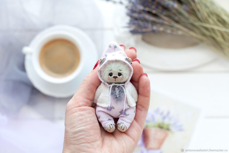 Лавандовая мишка, Игрушки, Москва, Фото №1