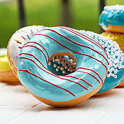 Куклы и игрушки handmade. Livemaster - original item Donuts with icing 19. Models (special price see description). Handmade.