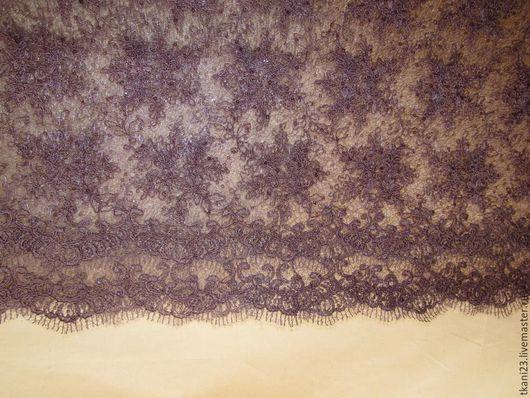 Шитье ручной работы. Ярмарка Мастеров - ручная работа. Купить гипюр на паутинке пайетки в тон ткани арт.17 СП-8(Корея)     ра(. Handmade.