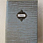 Канцелярские товары handmade. Livemaster - original item Notebook Northern lights handmade. Notepad from scratch. Handmade.