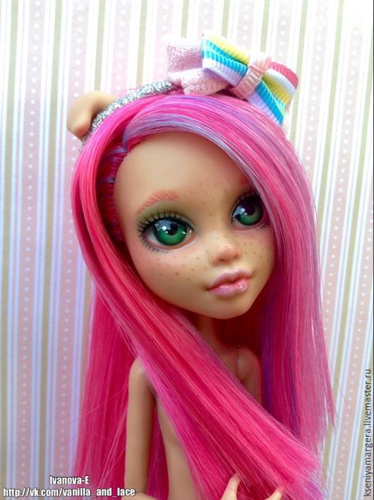 Коллекционные куклы ручной работы. Ярмарка Мастеров - ручная работа. Купить Анечка. Handmade. Розовый, сухая пастель, металлическая фурнитура