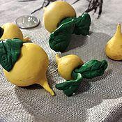 Кукольная еда ручной работы. Ярмарка Мастеров - ручная работа Кукольная еда: Репка из полимерной глины. Handmade.