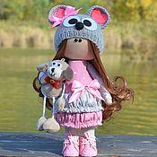 Куклы Тильда ручной работы. Ярмарка Мастеров - ручная работа Куклы Тильда:  Мышка. Handmade.