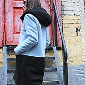 Одежда ручной работы. Ярмарка Мастеров - ручная работа Кашемировое пальто Sky Mix. Handmade.