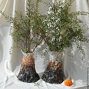 Для дома и интерьера handmade. Livemaster - original item Vases