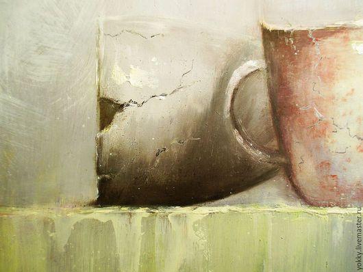 Натюрморт ручной работы. Ярмарка Мастеров - ручная работа. Купить Натюрморт с Чайником. Handmade. Белый, натюрморт, строго, обрамление, дешево