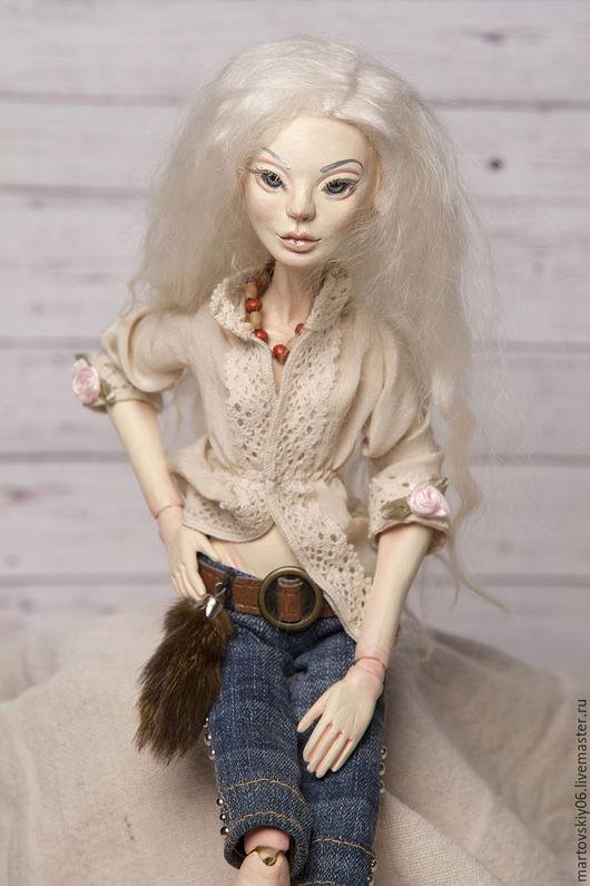 Коллекционные куклы ручной работы. Ярмарка Мастеров - ручная работа. Купить Авторская шарнирная кукла. BJD. Handmade. Шарнирная кукла