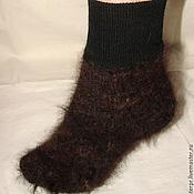 Аксессуары handmade. Livemaster - original item Socks cashmere art. No. №43 of dog hair. Handmade.
