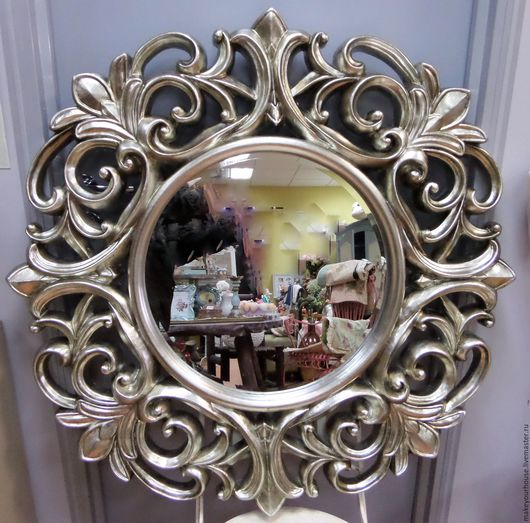 Декор зеркала.Зеркало купить в Москве.Большое зеркало в раме.