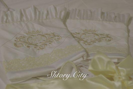 Текстиль, ковры ручной работы. Ярмарка Мастеров - ручная работа. Купить Постельное бельё ручной работы. Handmade. Постельное на заказ